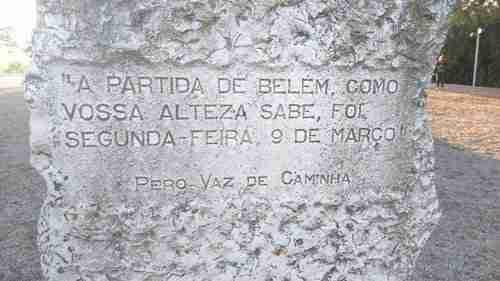Placa; Capela Sao Jeronimo no Restelo