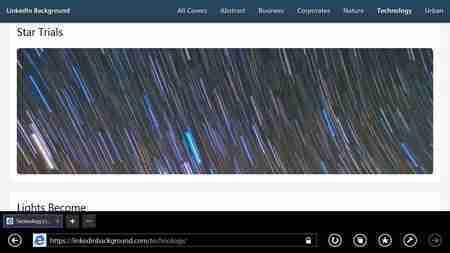 Imagem de Fundo para o Linkedin. Site de imagens gratuitas.