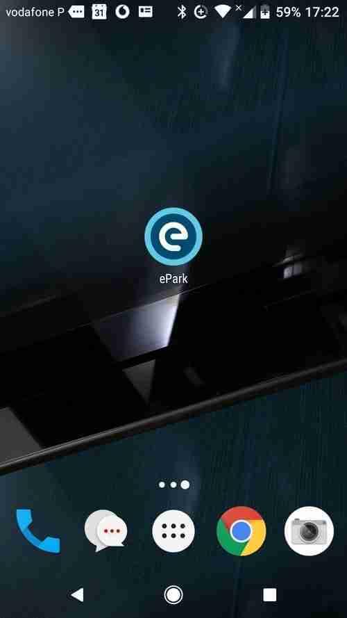 A App da EMEL. ePark, para estacionamento em Lisboa