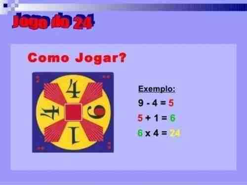 Como Jogar o jogo do 24