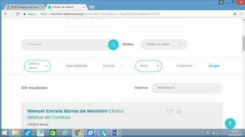 Plano de Saúde, ver Rede Médica de Clínica Geral para o Porto