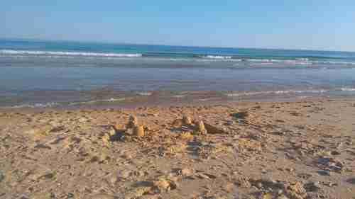 Praia da Terra Estreita no Parque Natural da Ria Formosa