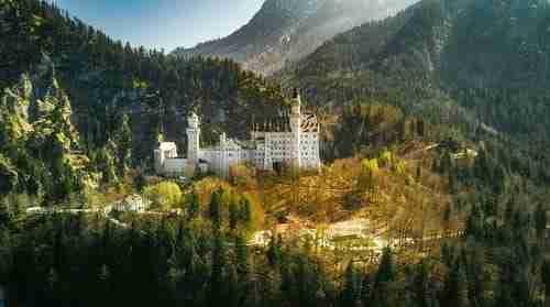 Castelo de Neuschwanstein Baviera